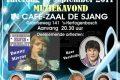 """Muziekavond georganiseerd door Party Pack, Café """"De Sjang"""", 16 september 2017"""