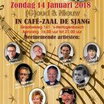 Party Pack viert (G)oud van Oud, Café De Sjang, 14 januari 2018