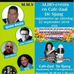"""Hollandse Avond, Café """"De Sjang, 22 september 2018"""