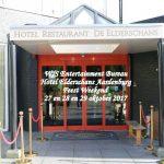 W/S Entertainment Bureau, Weekend Aardenburg, 27 en 28 en 29 oktober 2017