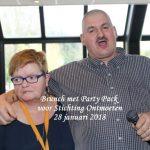 Brunch met Party Pack voor Stichting Ontmoeten, Fletcher Hotel, 28 januari 2018