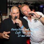 """Party Pack and Friends, Café """"De Sjang"""", 27 mei 2017"""