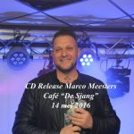 """CD Release Marco Meesters, Café """"De Sjang"""", 14 mei 2016"""