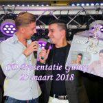 CD Presentatie Guney, Café André, 25 maart 2018