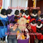 Sinterklaas en zwarte pieten bij Fletcher Hotel en Stichting Ontmoeten, 26 november 2017