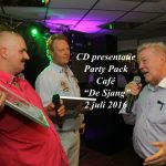 "CD presentatie Party Pack, Café ""De Sjang"", 2 juli 2016"